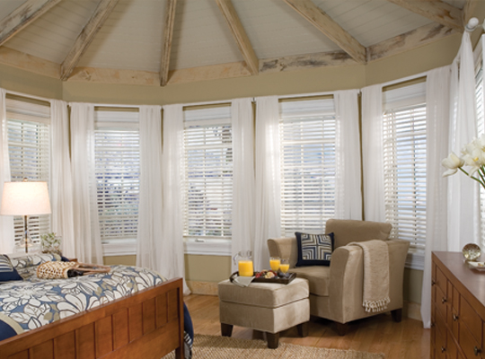 Comfortex Aria Faux Wood Blinds - Knoxville, TN