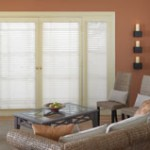Comfortex Shangri-la Doorstyles Window Shadings - Shutter Masters