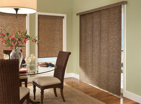 Envision Panel Track Shades by Comfortex - Shutter Masters in Knoxville, TN