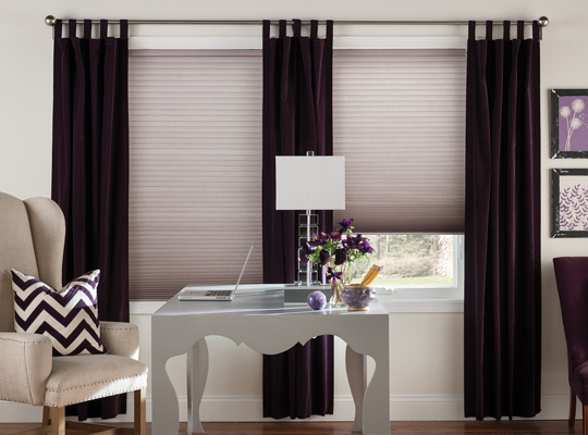 Linen Weave Cellular Shades by Comfortex