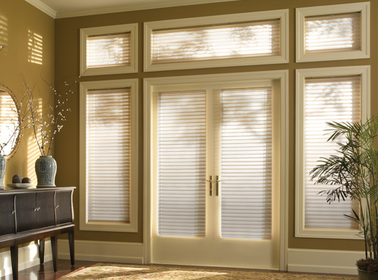 Shangri-la Doorstyles Window Shadings by Comfortex