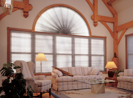 Specialty Pleated Shades by Comfortex