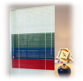 Skandia Colored Blinds