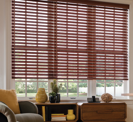 Faux Wood Blinds by Graber