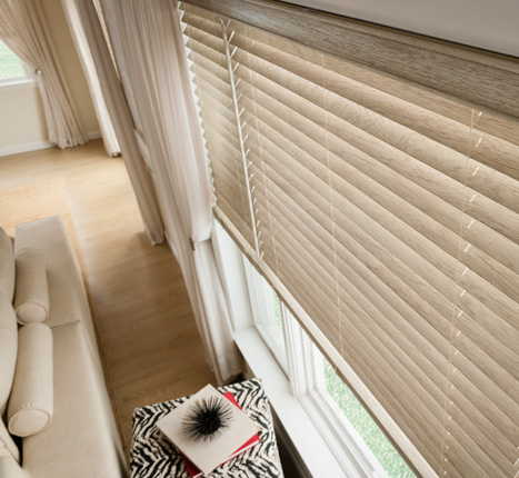 Wood Blinds by Graber